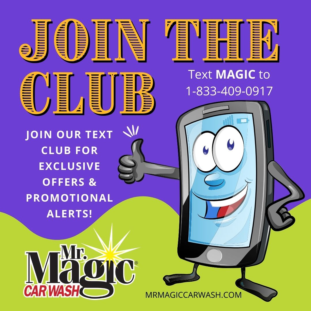Join our text club for savings!