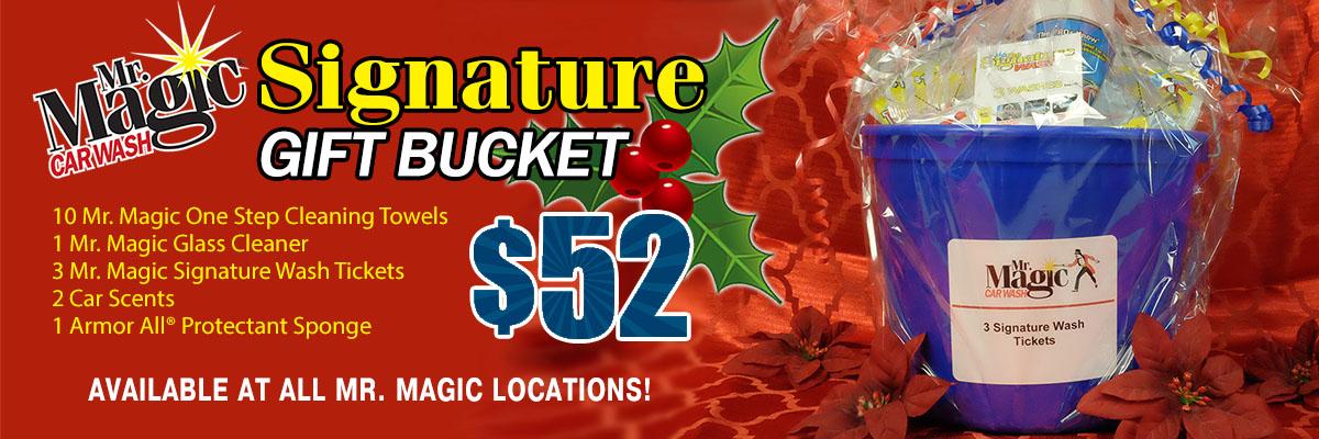 Mr Magic Gift Bucket