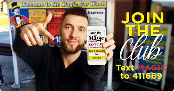 Mr Magic Text Club
