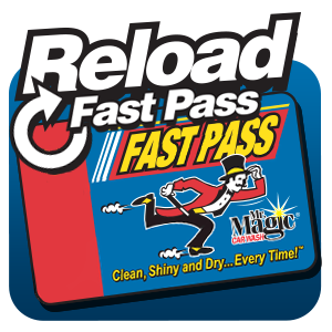 Mr. Magic Car Wash- Reload your Fast Pass