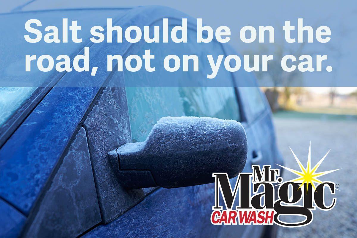 Road salt eats cars