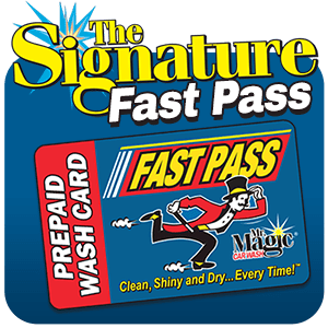 The Signature Wash Prepaid Wash Card - Fast Pass